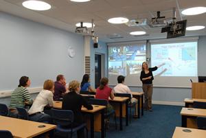 Lecture in Edinburgh SUPA room