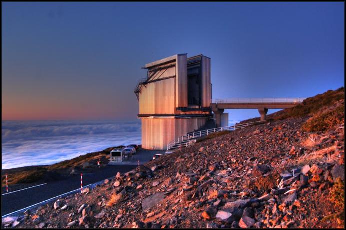 TNG (Telescopio Nazionale Galileo) Dome, La Palma, Canary Islands